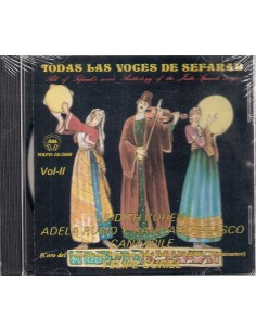 CD TODAS LAS VOCES DE SEFARAD